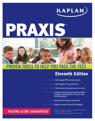 Praxis  11th 2012 (Revised) 9781609785840 Front Cover