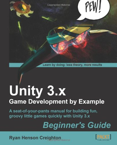 Unity 3. X Game Development by Example  N/A edition cover