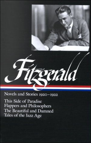 Fitzgerald This Side of Paradise - Flappers and Philosophers - The Beautiful and the Damned - Tales of the Jazz Age  2000 edition cover