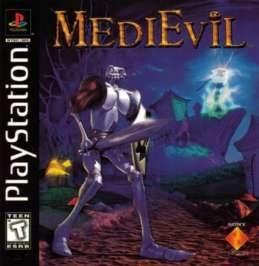 MediEvil PlayStation artwork