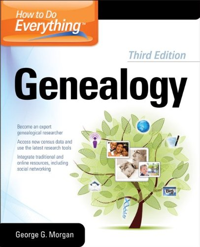 How to Do Everything Genealogy  3rd 2012 edition cover