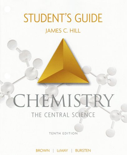 Chemistry - The Central Science  10th 2006 (Student Manual, Study Guide, etc.) edition cover
