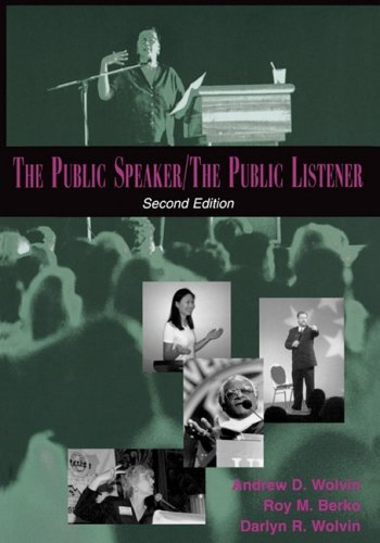 Public Speaker / the Public Listener  2nd 1999 (Revised) edition cover