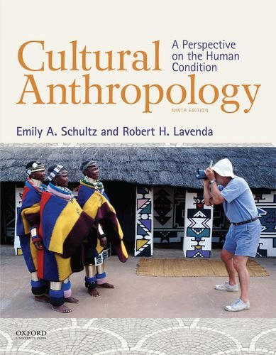 Cultural Anthropology A Perspective on the Human Condition 9th 2014 edition cover
