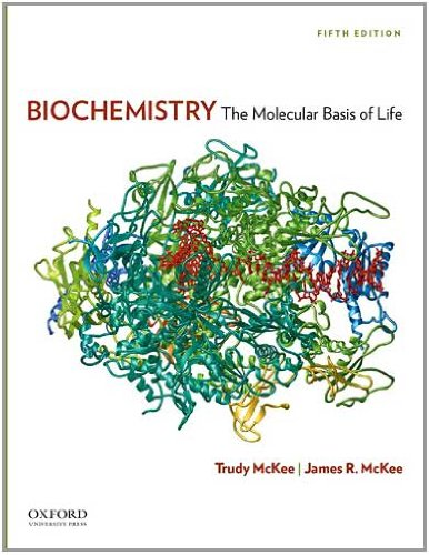 Biochemistry The Molecular Basis of Life 5th 2011 edition cover