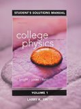 Student Solutions Manual for College Physics A Strategic Approach Volume 1 (Chs 1-16) 3rd 2015 edition cover