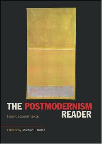 Postmodernism Reader Foundational Texts  2003 edition cover