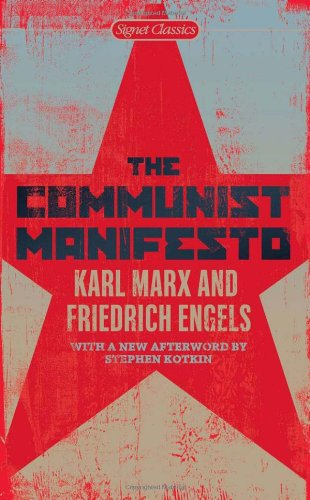 Communist Manifesto  N/A edition cover