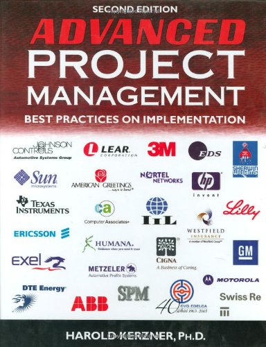 Advanced Project Management Best Practices on Implementation 2nd 2004 (Revised) edition cover