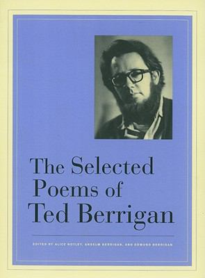 Selected Poems of Ted Berrigan   2011 edition cover