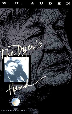 Dyer's Hand  N/A edition cover