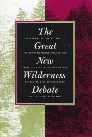 Great New Wilderness Debate   1998 edition cover