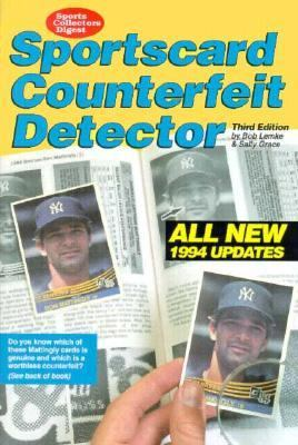 Sportscard Counterfeit Detector 3rd 9780873412841 Front Cover
