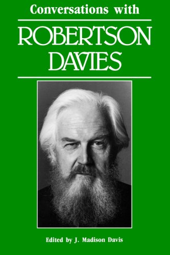Conversations with Robertson Davies   1989 9780878053841 Front Cover