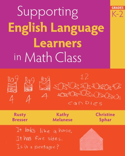 Supporting English Language Learners in Math Class, Grades K-2   2008 9780941355841 Front Cover