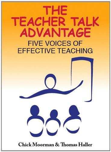 Teacher Talk Advantage Five Voices of Effective Teaching  2012 edition cover