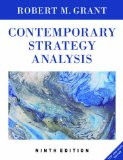 Contemporary Strategy Analysis Text and Cases Edition 9th 2016 9781119120841 Front Cover