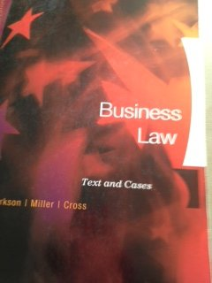 BUSINESS LAW >CUSTOM<          N/A 9781133443841 Front Cover
