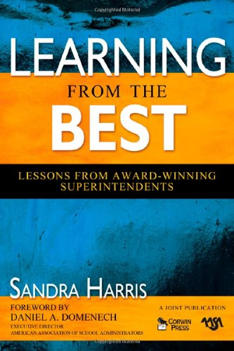 Learning from the Best Lessons from Award-Winning Superintendents  2009 9781412959841 Front Cover
