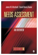 Needs Assessment An Overview  2010 edition cover