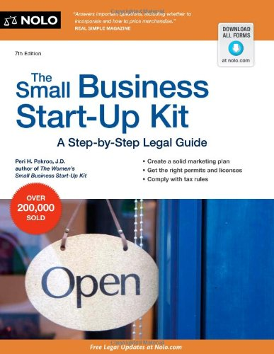 Small Business Start-Up Kit A Step-by-Step Legal Guide 7th 2012 (Revised) edition cover