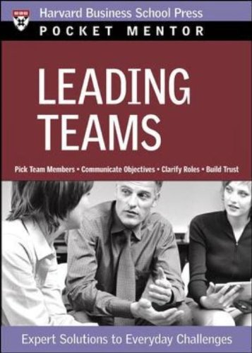 Leading Teams Expert Solutions to Everyday Challenges  2006 edition cover