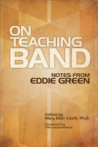 On Teaching Band: Notes from Eddie Green  N/A edition cover