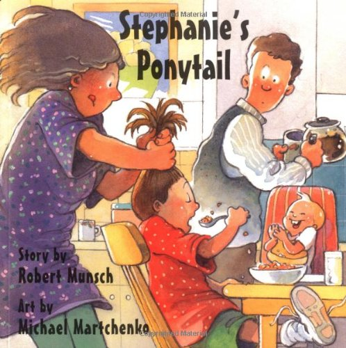 Stephanie's Ponytail  34th 1996 edition cover