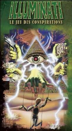 Deluxe Illuminati : The Game of Conspiracy Deluxe 9781556343841 Front Cover