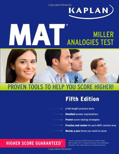 Kaplan MAT  5th edition cover