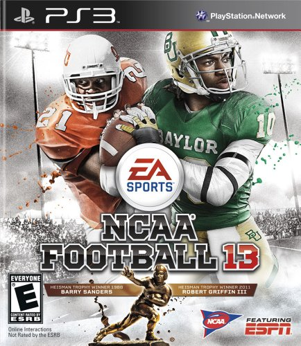 NCAA Football 13 - PS3 PlayStation 3 artwork
