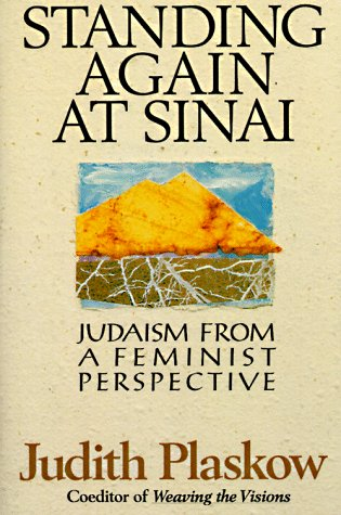 Standing Again at Sinai Judaism from a Feminist Perspective Reprint  edition cover
