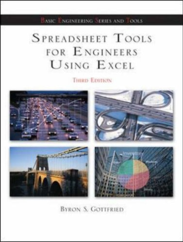 Spreadsheet Tools for Engineers Using Excel  3rd 2007 (Revised) edition cover