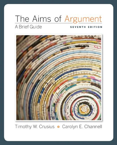 Aims of Argument A Brief Guide 7th 2011 edition cover