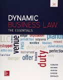 DYNAMIC BUSINESS LAW:ESSENTIALS 3rd 2015 9780078023842 Front Cover