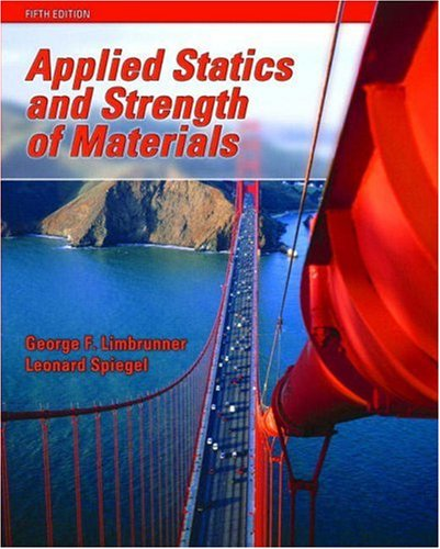 Applied Statics and Strength of Materials  5th 2009 (Revised) edition cover