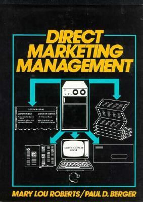 Direct Marketing Management  1989 9780132147842 Front Cover