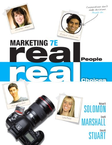 Marketing Real People, Real Choices 7th 2012 (Revised) 9780132176842 Front Cover