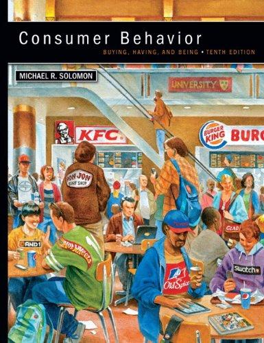Consumer Behavior  10th 2013 (Revised) edition cover