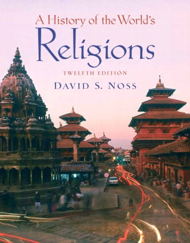 History of the World's Religions  12th 2008 edition cover