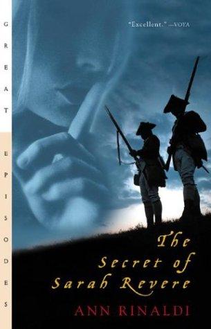 Secret of Sarah Revere   1995 edition cover