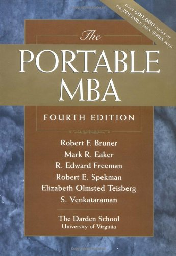 Portable MBA  4th 2003 (Revised) 9780471222842 Front Cover