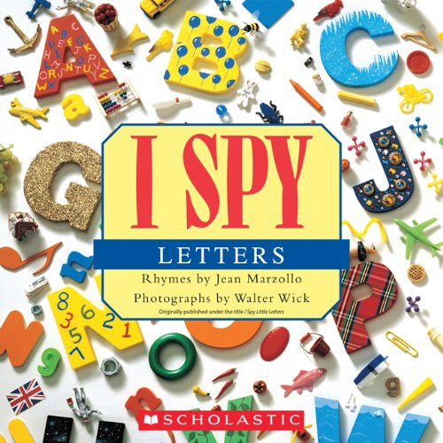 I Spy Letters  N/A 9780545415842 Front Cover