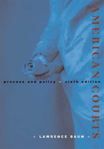 American Courts Process and Policy 6th 2008 edition cover