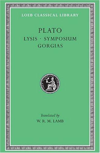 Lysis, Symposium, Gorgias   1925 edition cover