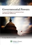 Governmental Powers Cases and Readings in Constitutional Law and American Democracy N/A edition cover