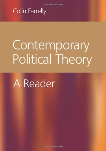 Contemporary Political Theory A Reader  2004 edition cover