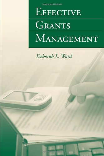 Effective Grants Management   2010 edition cover