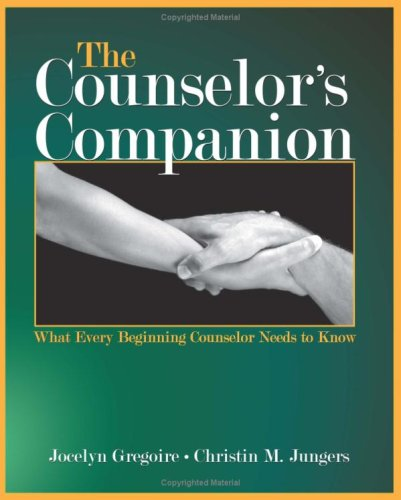 Counselor's Companion What Every Beginning Counselor Needs to Know  2007 edition cover