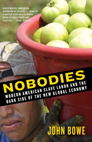 Nobodies Modern American Slave Labor and the Dark Side of the New Global Economy N/A edition cover